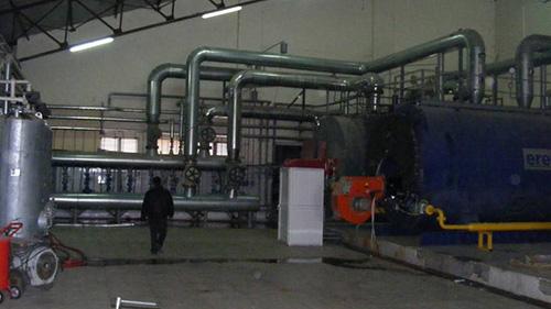Osmanbey Kampüsü Teshin Merkezi ve Kızgın Su Sistemli Kalorifer Tesisatı İkmal İnşaatı
